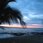 This is a shot from a restaurant at Puerto Viejo, very close to the resort.