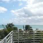vue de la terrasse. sublime
