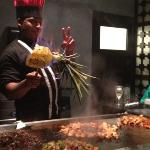 the hibatchi grill.. our favorite restaurant