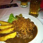 tastes like Swiss steak but I LOVE Swiss steak!