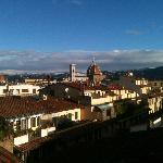 Dalla terrazza dell'Hotel La Scaletta