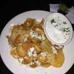 tavern chips with blue cheese crumbles
