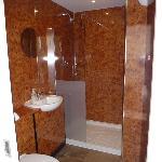 Refurbished shower room