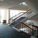 лестница в отеле