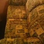 Couch in room