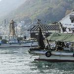 鞆の浦、力石前の港