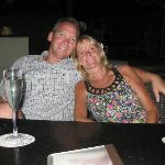 Terry and Amy At the Beachbar