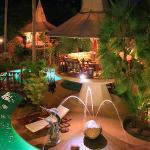 Coco Palace Resort by night