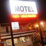 Motel night view