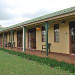 Petite terrasse des chambres