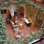Restaurante del hotel rey del moro