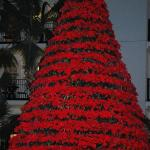 Poinsetta Christmas Tree