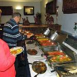 Buffet at the Prince of India, Pitlochry