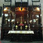 The wooden alter