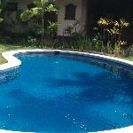 Pool of the 4 room villa