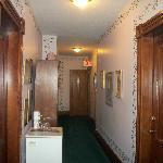 upstairs halllway