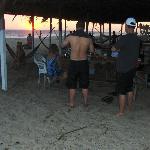Beach part of Las Panchita Restaurant