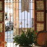 Blick in den Empfang des La Noria Hotel