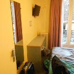 La nostra camera, piccola ma c'era tutto!