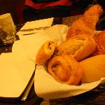 Il cestino con i croissant e baguette!