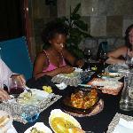 Abendessen im Paradies