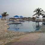 One of two Hotel swimming pools