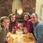 Family Dinner in Ambleside
