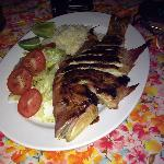 Pescado a la plancha or grilled fish