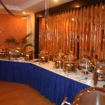 Buffet area only on special events