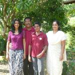 Mr Chacko, his wife, son and daughter