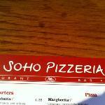 Soho pizzarestaurant !