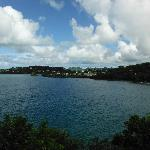 View across the bay towards Castries