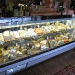 The huge cheese counter!