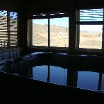 Jacuzzi in the master bedroom (cover off)