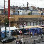 Sunday market across the street from Ibis hotel