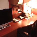 nice desk area