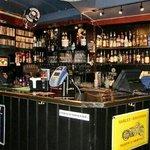 Inside Rock café (bar)