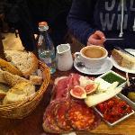 Italian platter, K & J style