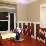 Dining room in the Craftsman Apt