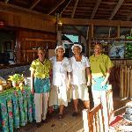 The Wonderful restaurant staff