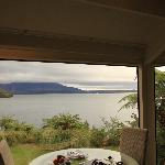Tarawera Suite Dining area