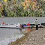 Lac aux loutres, canöe