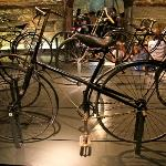 1886 Gauthier cross-frame safety. The bike that introduced St. Etienne to bike manufacturing.