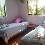 Single bedroom in Casa Trogon