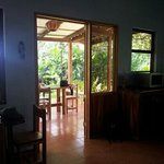 View from kitchen of Casa Trogon