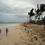 The beach (some bad erosion)