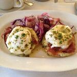 poached eggs - better than any egges benedict!