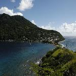 Scotts Head looking back to Soufriere