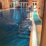 swimming pool in spa area