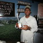 Rapheal who make the best special coffees in the dining room